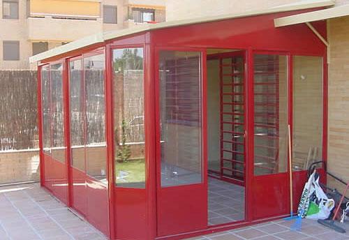 Cadeal aluminios y pvc en valladolid for Cierres de aluminio para terrazas